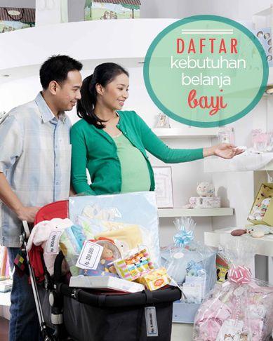 Daftar kebutuhan belanja bayi :: Baby grocery list :: baby's needs ::  Klik untuk melihat daftar kebutuhan belanja bayi