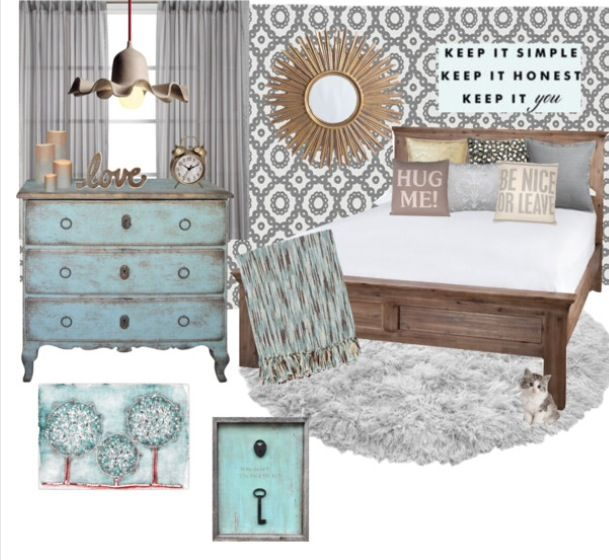 222 best Rustic Glam Bedroom images on Pinterest