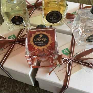 Cretan Gift Box with Tsikoudia-Raki in 4 tastes