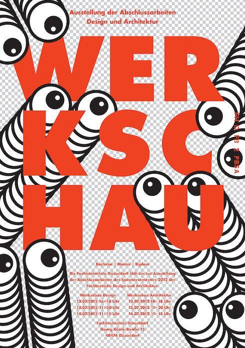 Werkschau an der FH Düsseldorf | Slanted - Typo Weblog und Magazin
