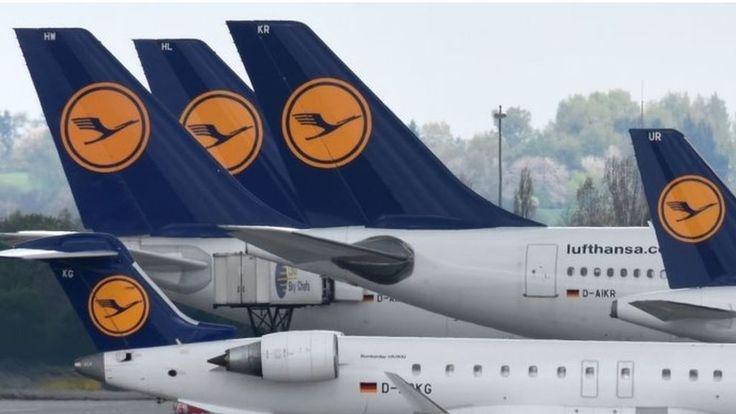 Lufthansa to suspend flights to Venezuela - BBC News