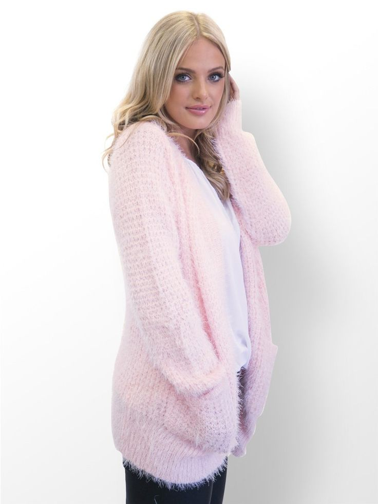 Light Pink Oversized Fuzzy Sweater #fuzzy #sweater ...