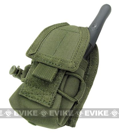 MOLLE Multi-Purpose Handheld FRS Radio MOLLE Pouch - OD Green