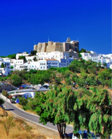 Picture-perfect Hora, Patmos
