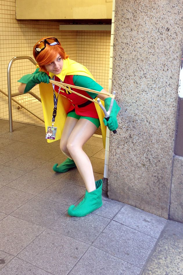 Robin/Carrie Kelley, The Dark Knight Returns, by Jackie Ashley, photo by DanaBelle.