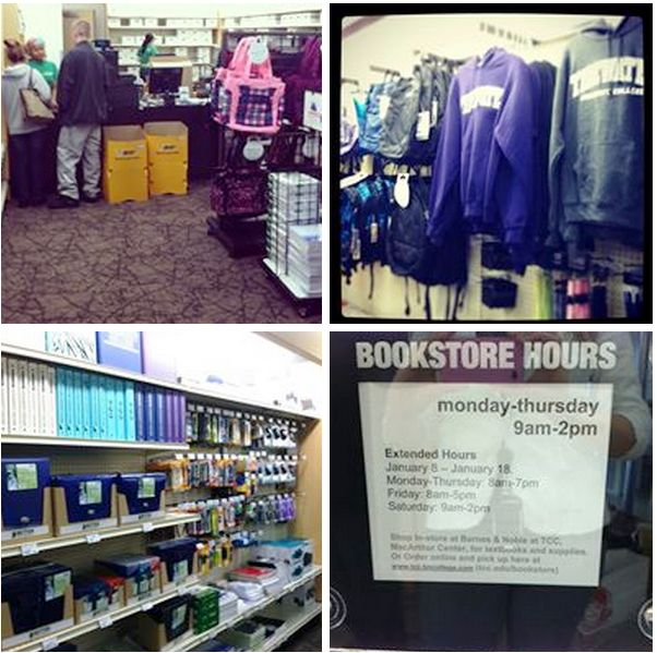 The Tidewater Community College Bookstore Inside TCC Portsmouths New Student Center Has Everything You Need To