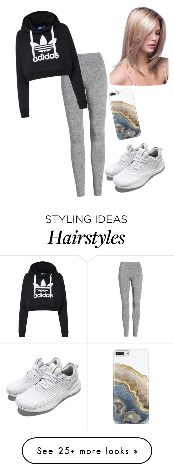 """Untitled #2980"" by vireheart on Polyvore featuring Treasure & Bond, adidas Originals, adidas and Nicole Miller"
