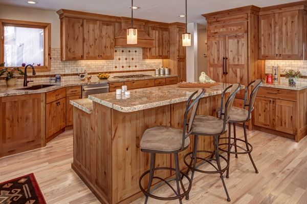Mission - Alder Rustic - Spice -- Cabinetry by Karman ...