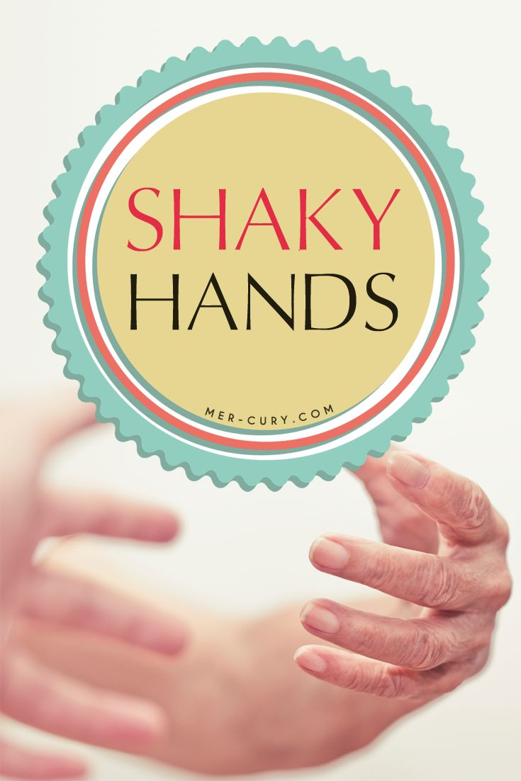 how to stop shaky hands when writing