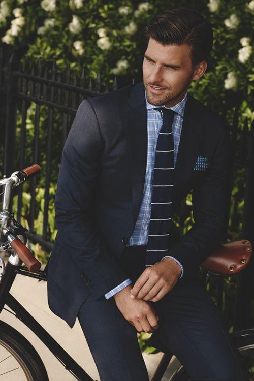blue hues -- menswear suit style #Gentleman #follow http://www.pinterest.com/armaann1/classy-mofos/   Men's fashion   Style  