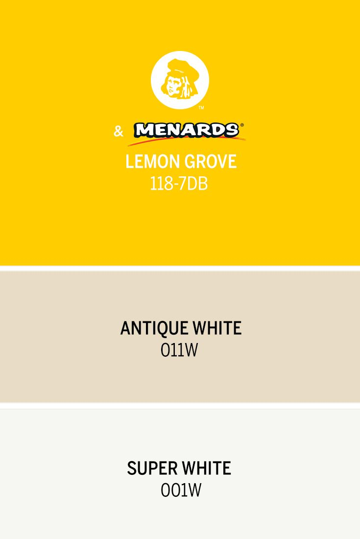 Dutch Boy S August Color Of The Month Lemon Grove 118 7db Is A Bright Sunny Yellow Inspired