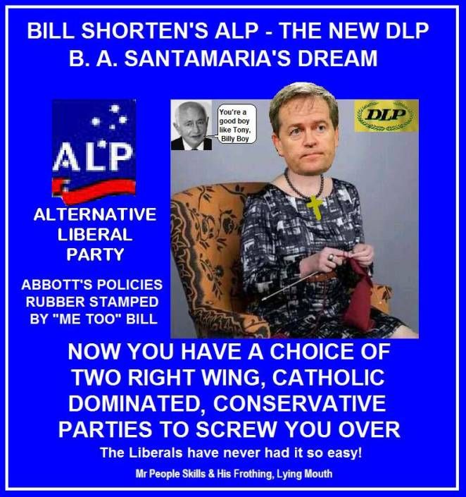 Bill Shorten has betrayed the LABOR VALUES we so much cherish. He might as well join the LNP at the rate he's going. From the time he took over the leadership of the LABOR PARTY backed by the Fac... http://winstonclose.me/2015/07/24/bill-shorten-has-made-labor-a-far-right-extremist-party-written-by-winston-close/