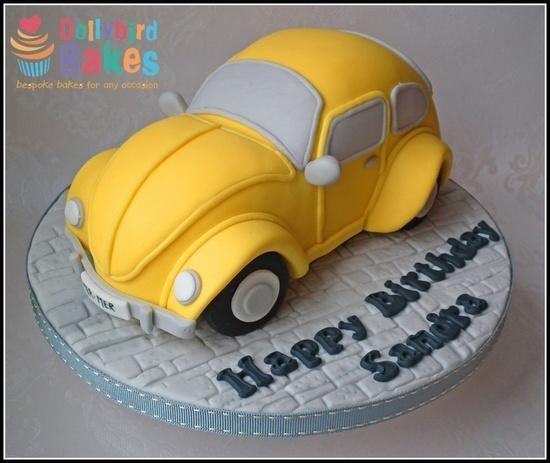 Classic VW Beetle cake