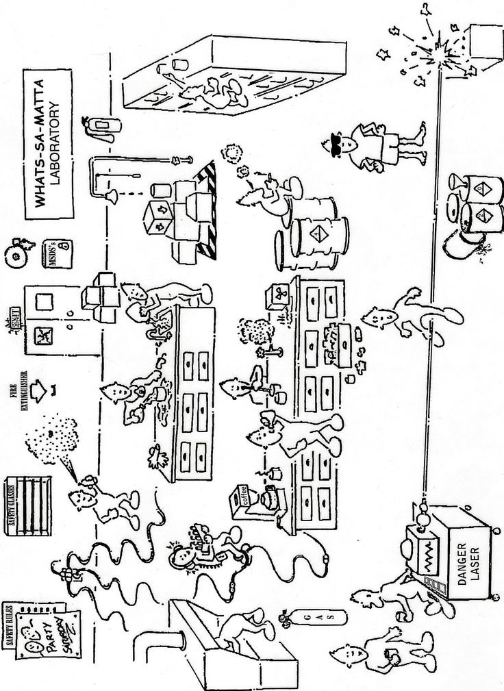 Printables Lab Safety Cartoon Worksheet 1000 ideas about lab safety on pinterest science labs and science