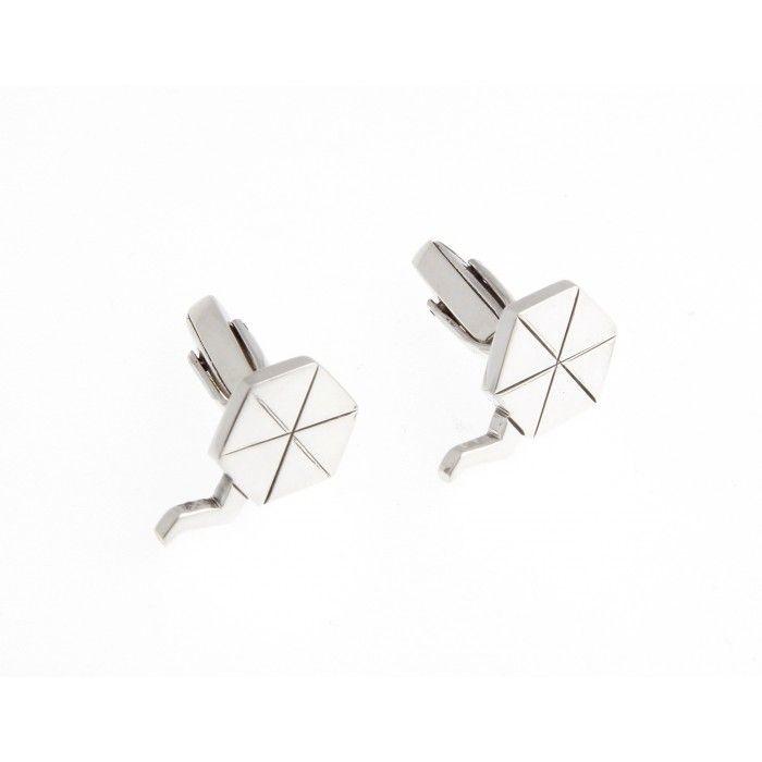 Cufflinks in a kite shape - GK0079