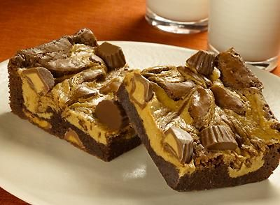 REESE'S Peanut Butter Cup Brownies