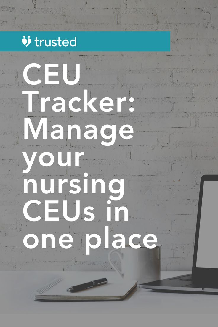 CEU Tracker Manage your nursing CEUs in one place in 2020