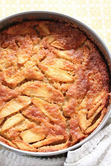 Eat Good 4 Life » Rustic Apple Cake. Super easy to make. The prep time is just about 10 minutes. Comfort food at is best. #healthier