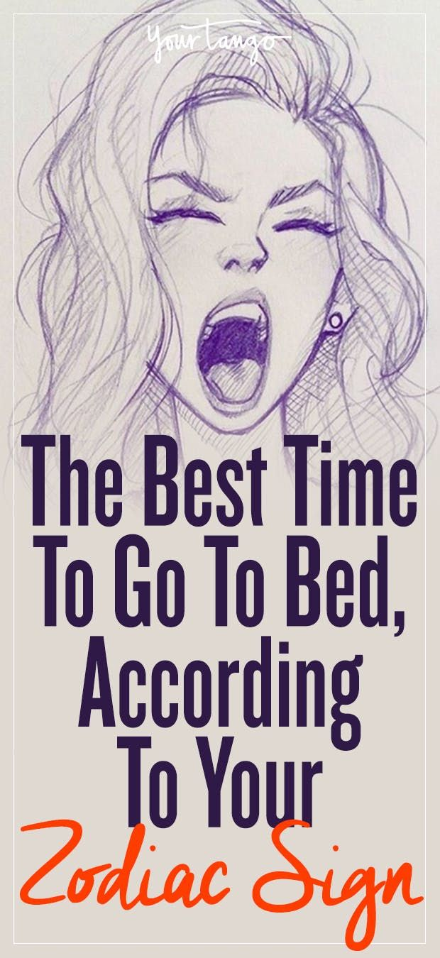The Best Time To Go To Sleep, According To Your Zodiac Sign   YourTango