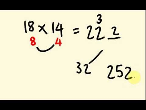 Fast Math Trick for Multiplication - How to multiply numbers under twent...