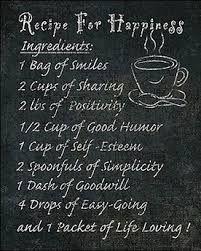 Afbeeldingsresultaat voor recept geluk