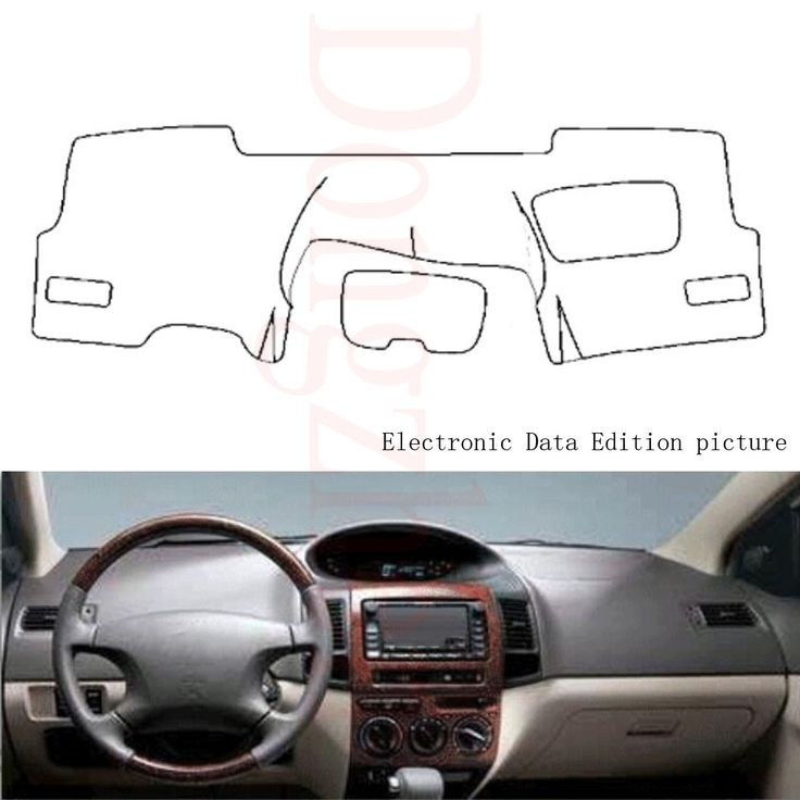 Dongzhen Fit For Toyota Vios 2004 2007 Car Dashboard Cover Avoid Light Pad Instrument Platform Dash Board Cov Dashboard Covers Interior Accessories Toyota Vios