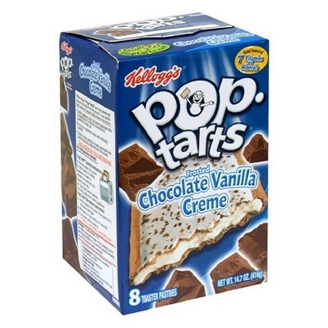 Foods From Your Childhood That Sadly No Longer Exist - Chocolate Vanilla Creme Pop-Tarts