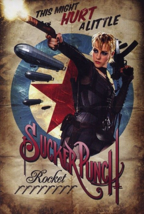 Sucker Punch Retro-Style Movie Posters + New Trailer | Geeks are Sexy Technology News