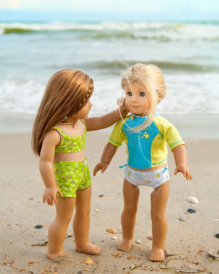 Dolly Dorm Diaries ~ Our American Girl Doll Blog Adventures : { A Special Beach Treasure }