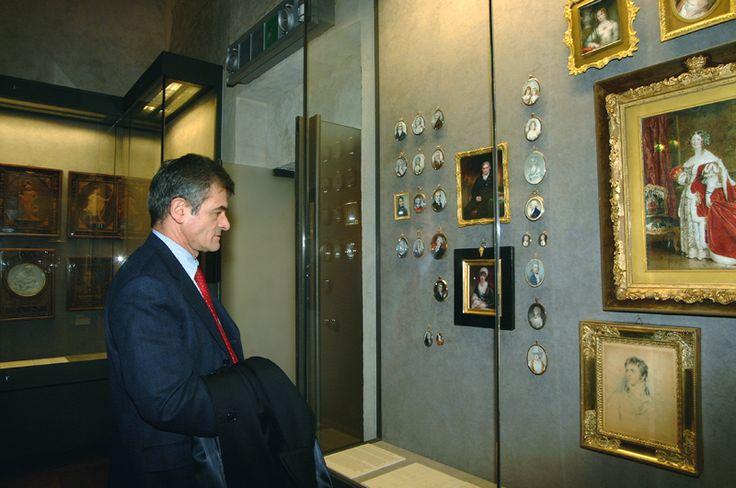 Il Sindaco S.Chiamparino in occasione dell'inaugurazione di Palazzo Madama  a Torino