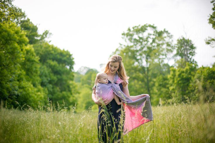 Bedund Pink: Ring sling Indajani