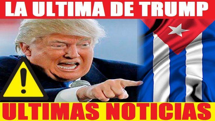 ULTIMAS NOTICIAS HOY 1 DE OCTUBRE TRUMP ORDENA AISLAR A CUBA  ULTIMA HOR...