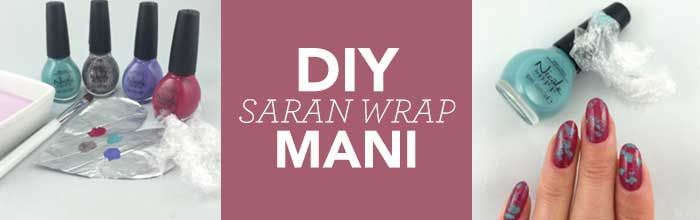 Header Image for Saran Wrap Mani