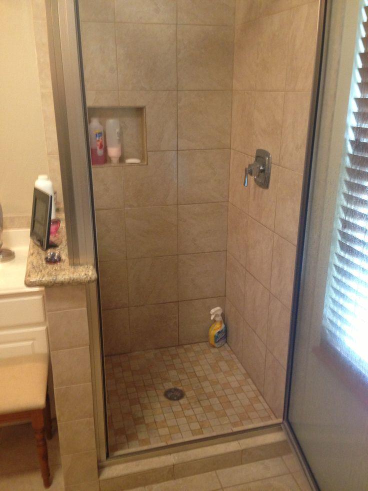 Custom walk in shower bathrooms pinterest custom shower and showers for Custom showers for small bathrooms