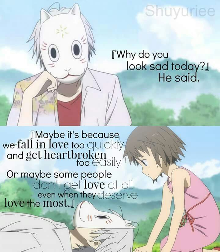 Manga Love Quotes: 25+ Best Ideas About Sad Anime Couples On Pinterest