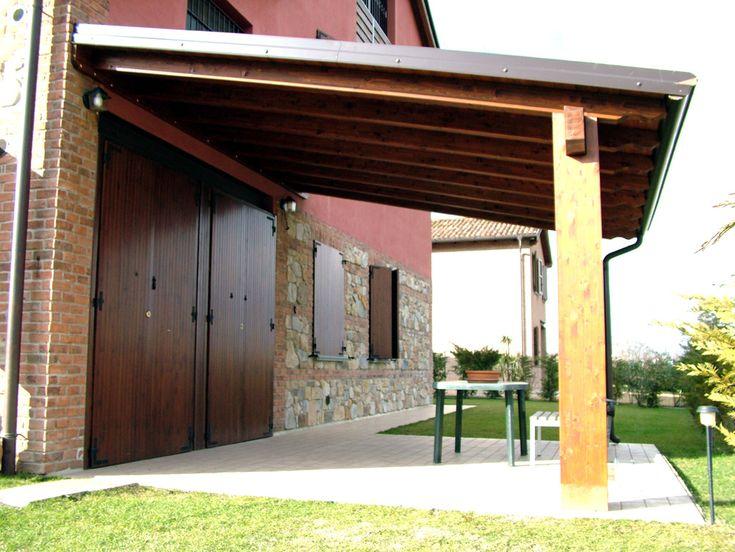 Oltre 20 migliori idee su copertura in legno su pinterest for Kit caminetto per portico