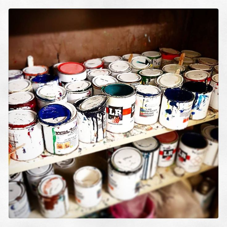 The pigment stash. #visionary #custommade #surfboard #shaping #shaper #resintint #pigment #glassing #northeast http://ift.tt/19MEsb6
