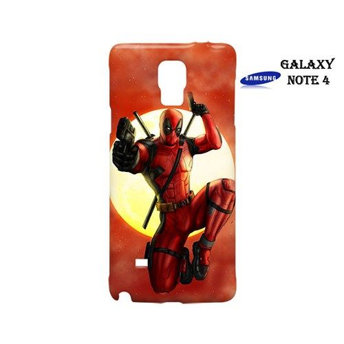 Deadpool Sky Blood Case for Samsung Galaxy Note 4
