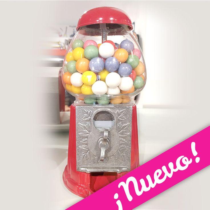 M quina de bolas de chicle o2lifestyle lo m s original - Dispensador latas nevera ...
