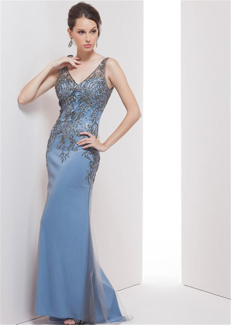 2016 Women Elegant Evening Dresses Navy Blue Sparkle Formal Dress Paolo Sebastian Party Custom Made Gown Haute Couture Dresses 2017 Qw722 Lace Evening Dress Ladies Occasion Dresses From Jovassbridal, $125.63| Dhgate.Com