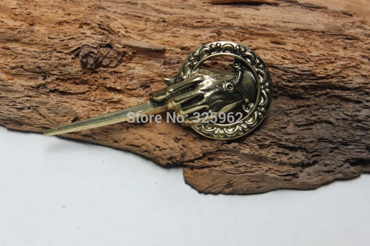 Game of Thrones jewelry Stark Hand of the King Badge brooch vintage style good gift idea  //Price: $US $5.39 & FREE Shipping //     #gameofthrones #gameofthronestour #gameofthronesfamily  #starks