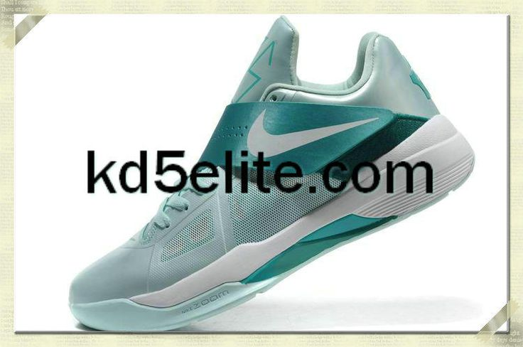 Fast Shipping Nike KD 4 473679 800 Team Orange Photo Blue White