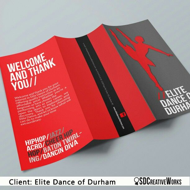 Dance Studio Brochure