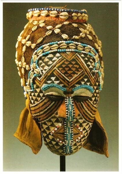 Africa - Kuba People of Zaire Shene Malula African Mask