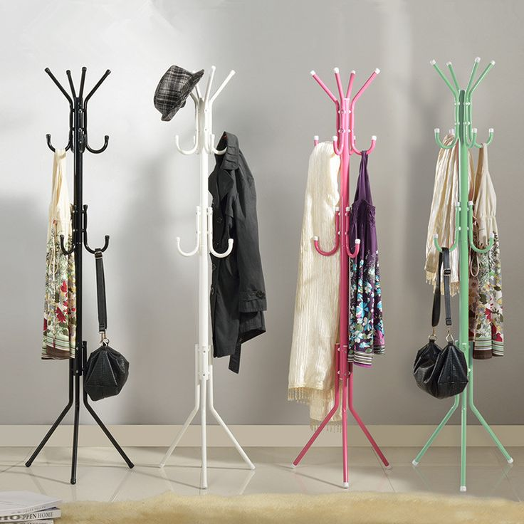 Hat And Coat Rack Diy