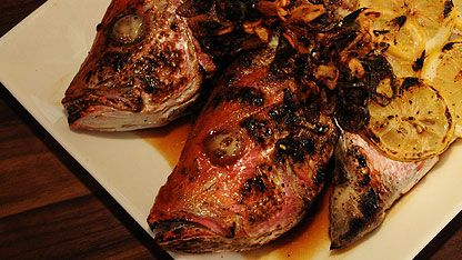 Vivaneau grillé à la sauce aigre-douce - Recettes - RecettesBBQ.com