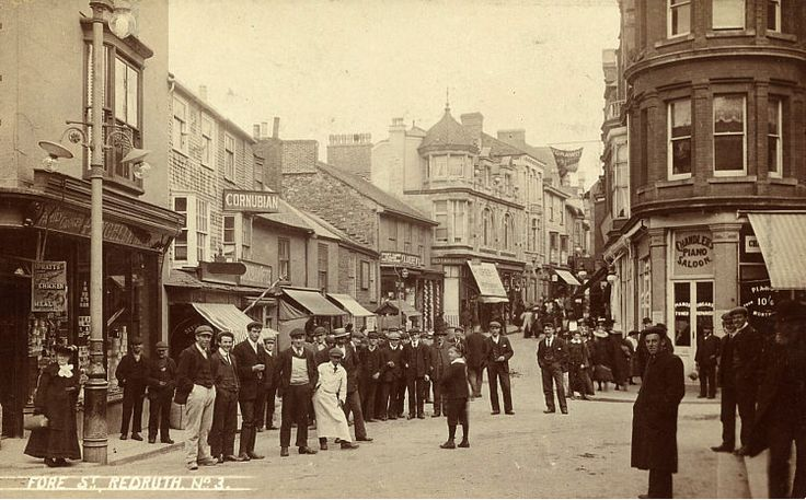 redruth cornwall - Fore Street 1907