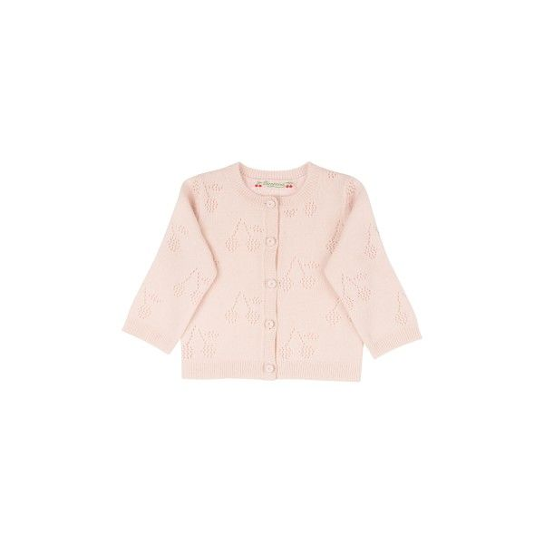 Cashmere Cardigan Pale Pink