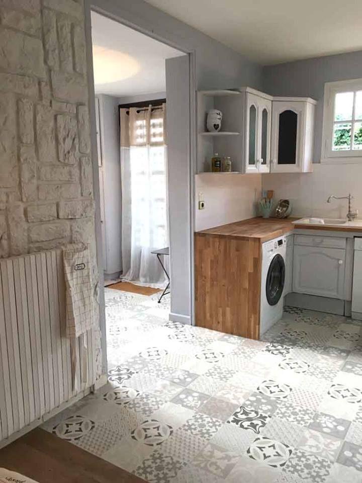 Les sols Gerflor dans Maison à Vendre sur M6 ! Provence Cream - Texline by #Gerflor #flooring #homedecor #homestaging