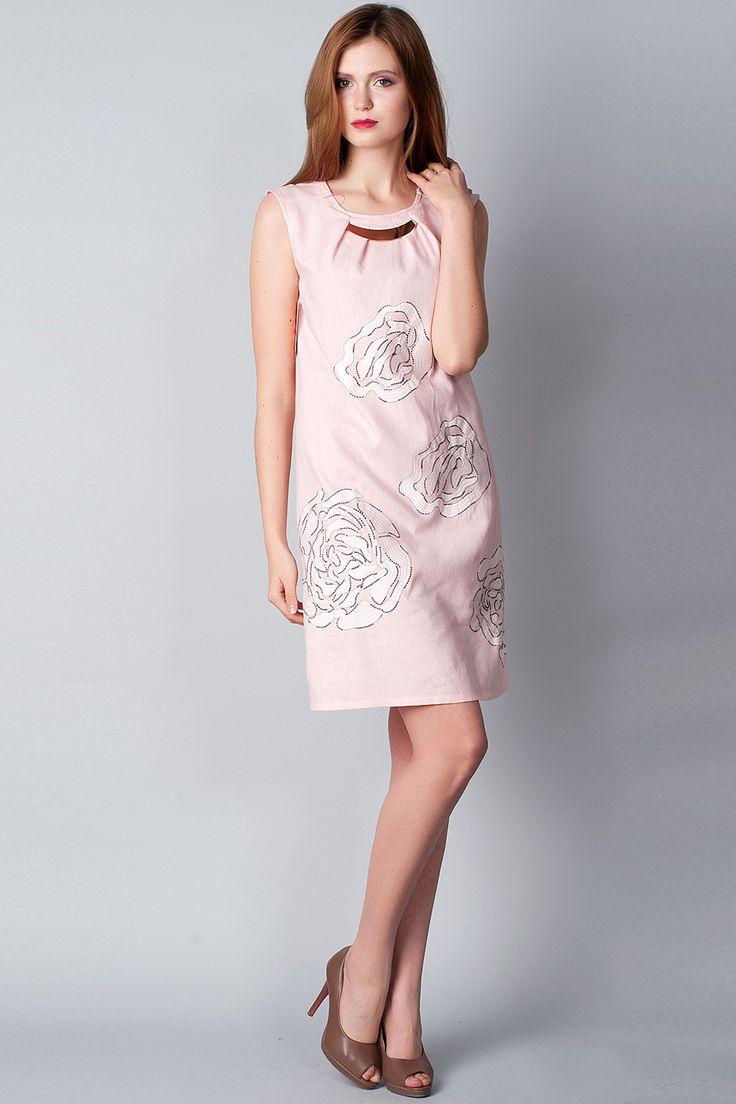 x Платье нежно-розового цвета с декором Ruta-S